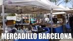 Un mercado en Barcelona, junto a Colón