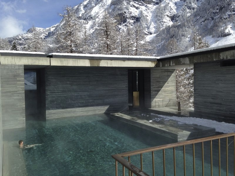 hotel therme vals peter zumthor homemyway. Black Bedroom Furniture Sets. Home Design Ideas