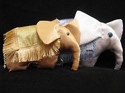 слоники подушки