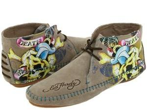 роспись на обуви