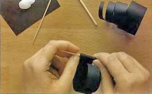 изготовление бусин из бумаги