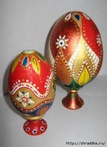 расписные яйца