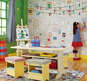 оригинальный дизайн интерьера детской