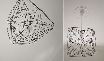 Coat Hanger Pendant Light