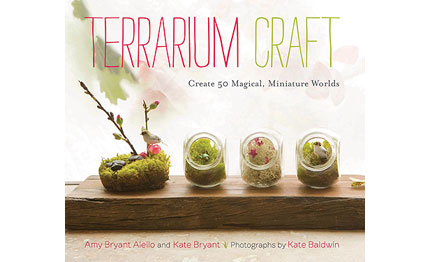 Book Review: Terrarium Craft: Create 50 Magical, Miniature Worlds