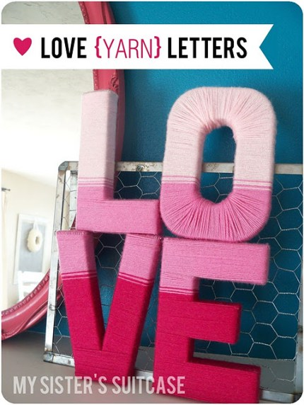 Ombre Yarn Love Letters