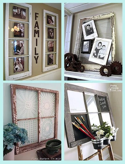 ideas for old windows home and garden