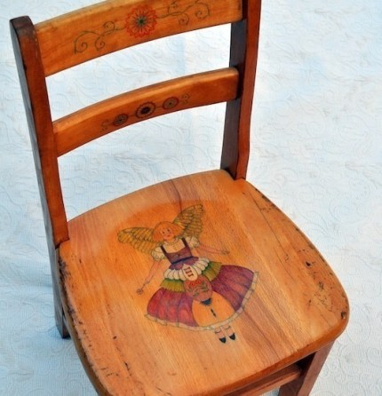 Decorating Wooden Chairs