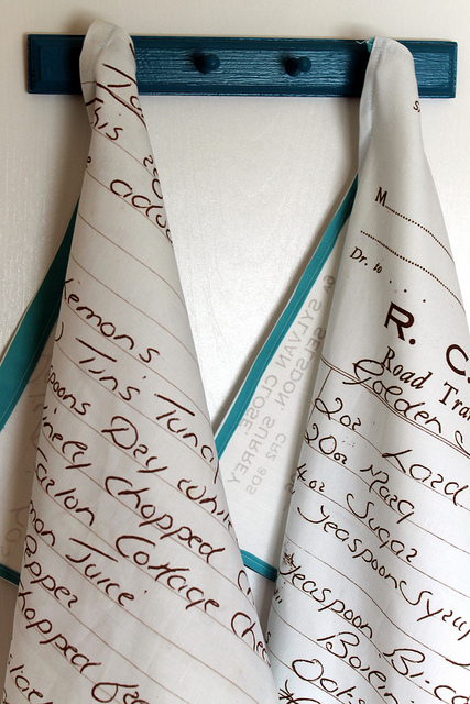 Recipe Hand Towels
