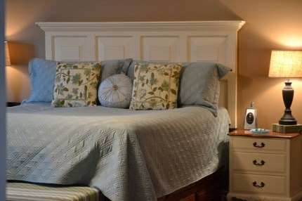Turning a Door Into a Headboard
