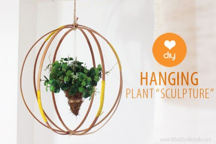 Make a Sculpture for Your Fake Plants