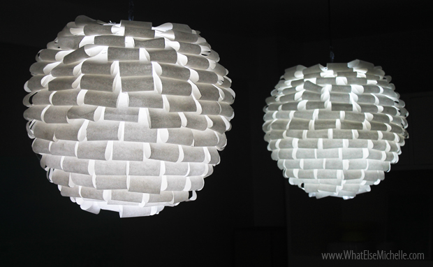 DIY Paper Lamp – Home and Garden