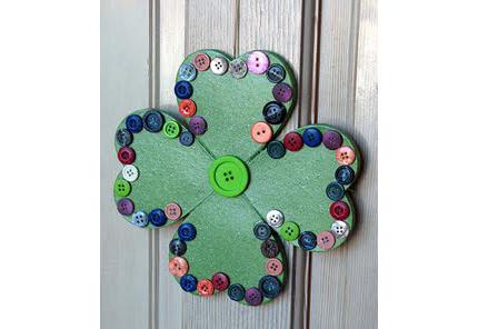 15 Shamrock Crafts for St. Patrick's Day @craftgossip