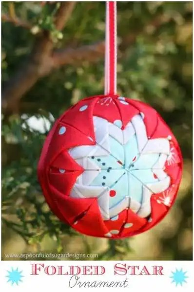 Folded-Star-Ornament