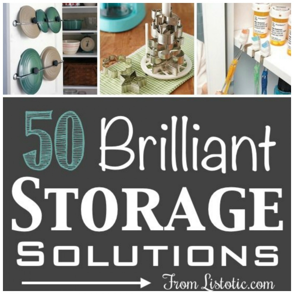 Easy Cheap Storage Solutions Home And Garden