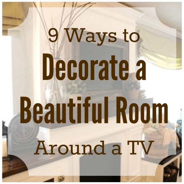 Large tv wall decor : Ways to decorate a beautiful room around tv home and