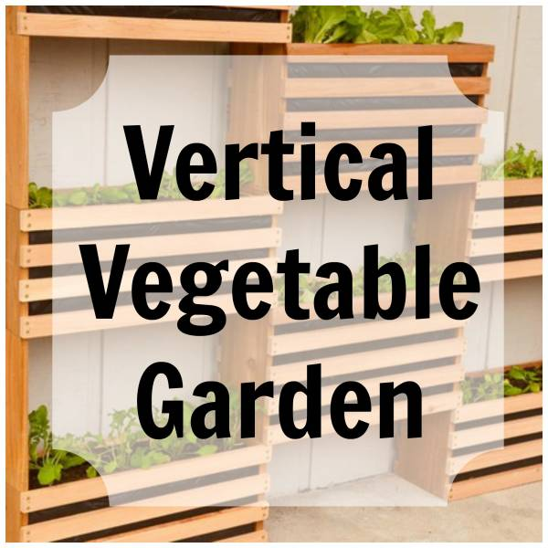 Make Your Own Space Saving Vertical Vegetable Garden