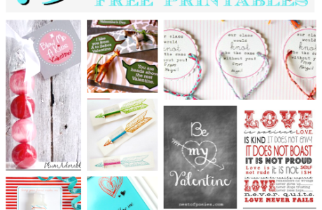 Free Printables For Your Valentine's Day Celebration