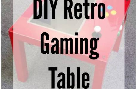 DIY Interactive Retro Gaming Table