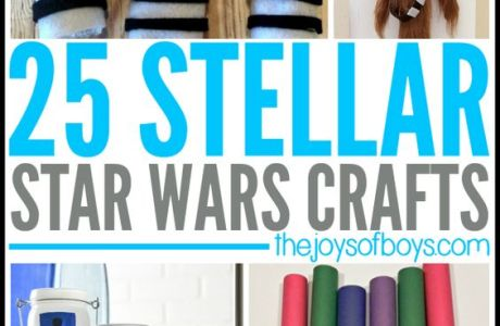25 Star Wars Crafts to Celebrate May the 4th!