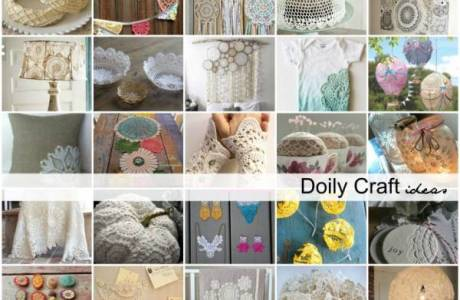 Craft Ideas for Your Favorite Doily