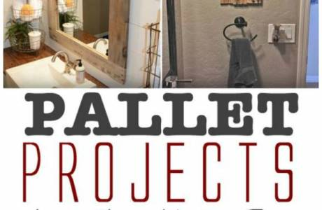 Bathroom Decor Made from Pallets