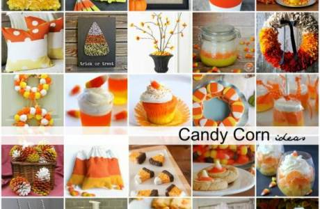 Adorable Candy Corn Crafts