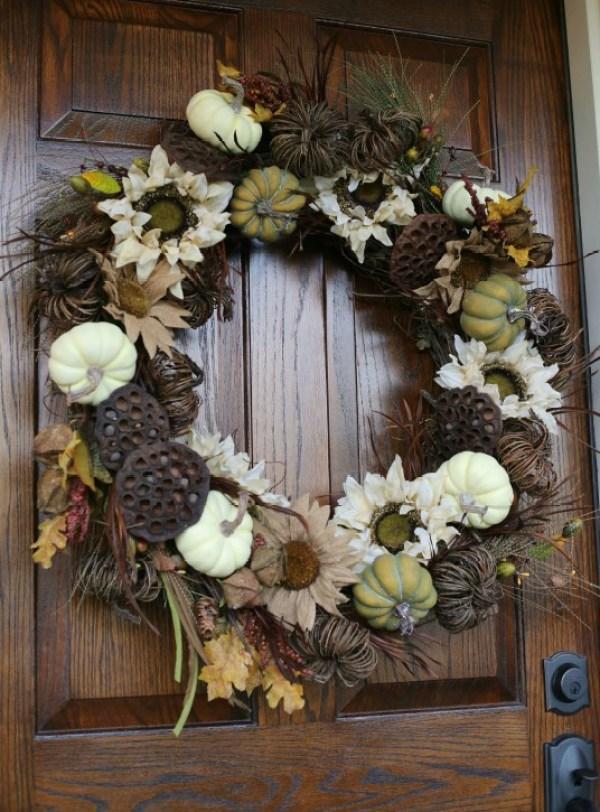8 Diy Fall Wreaths Home And Garden