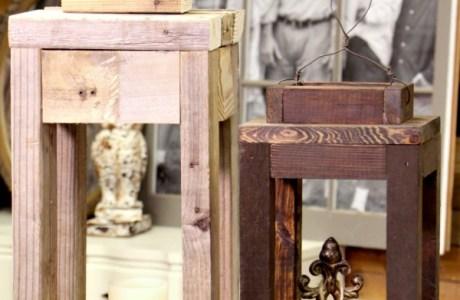 Scrap Wood Lanterns ….. A DIY Tutorial