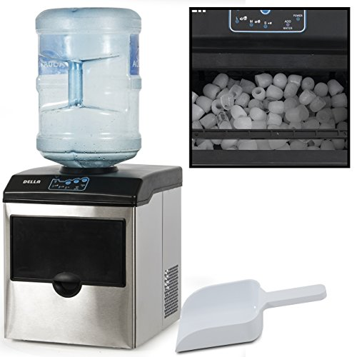 Countertop Ice Maker Sears : ... Dispenser w/ Built-In Ice Maker Machine Counter Portable, 40-Pound