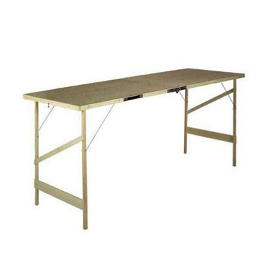 Hardboard Top Folding Pasting Table - 1780 x 560 x 740mm