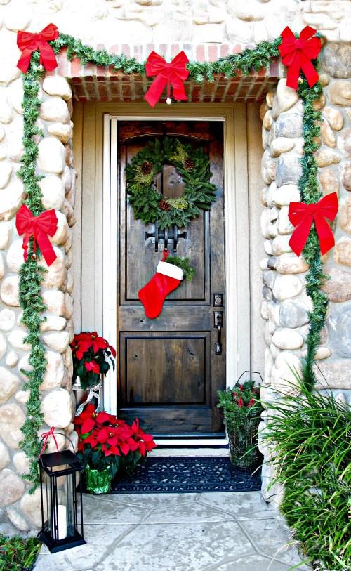 Medium Of Christmas Door Decorating Ideas