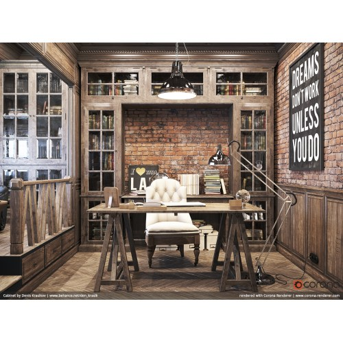 Medium Crop Of Rustic Home Office