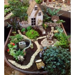 Small Crop Of Cute Fairy Garden Ideas