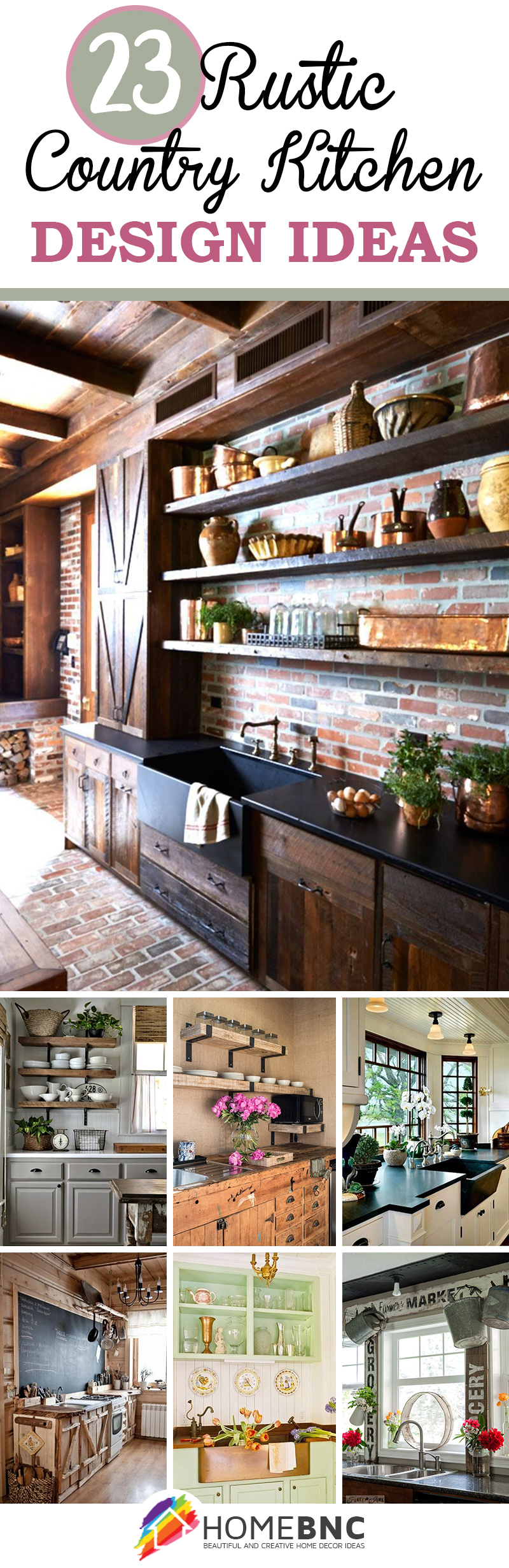Large Of Rustic Home Kitchens