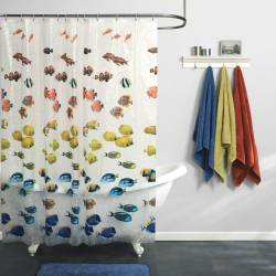 Swish Fish Shower Curtain