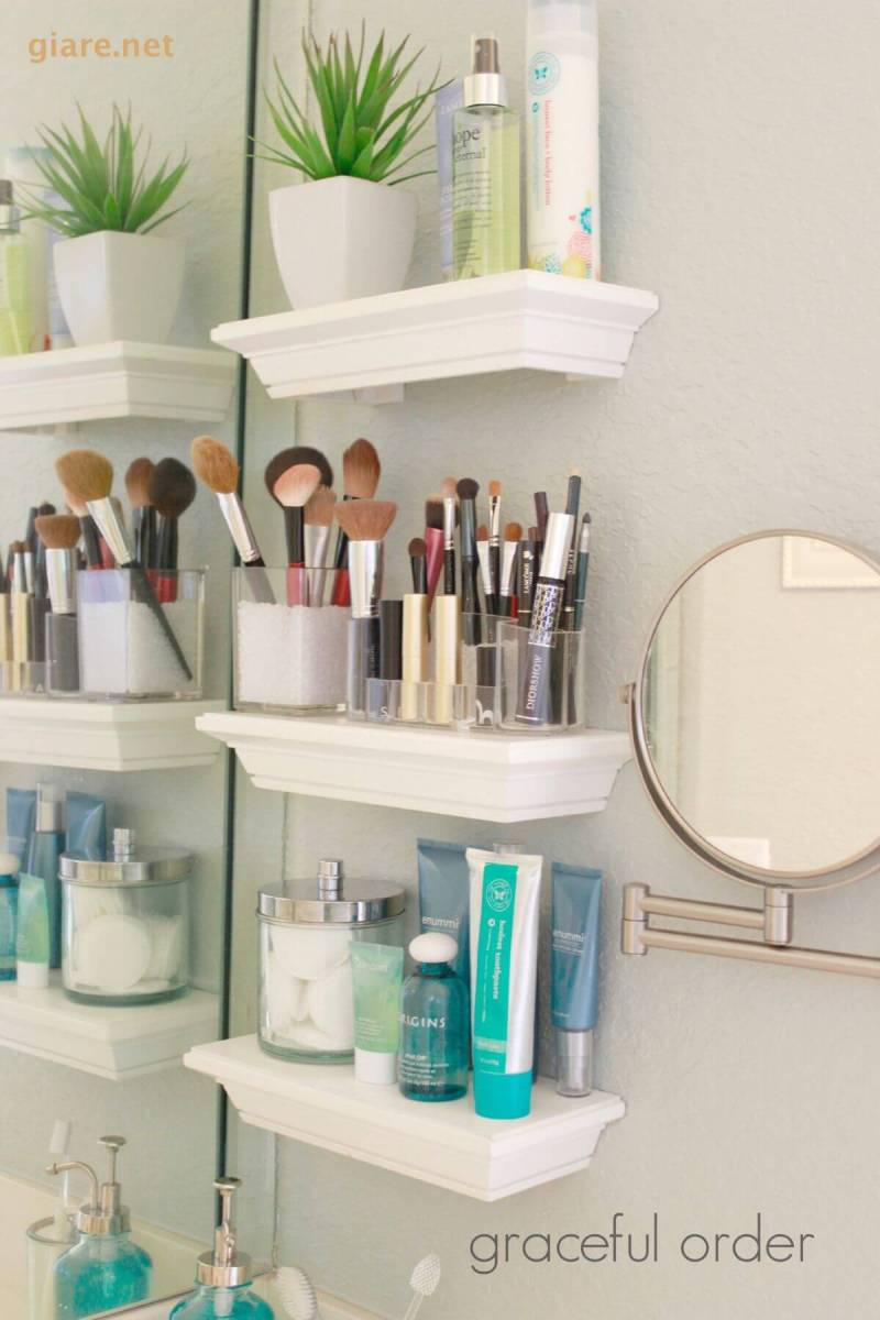 Large Of Images Of Bathroom Shelves