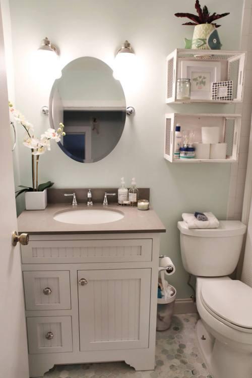 Medium Of Bathroom Shelves And Storage