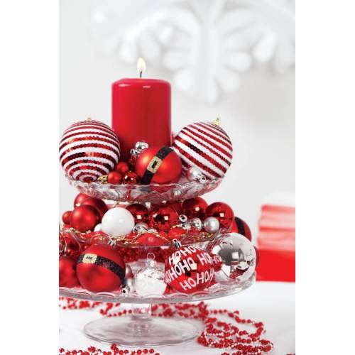 Medium Crop Of Red Christmas Ornaments