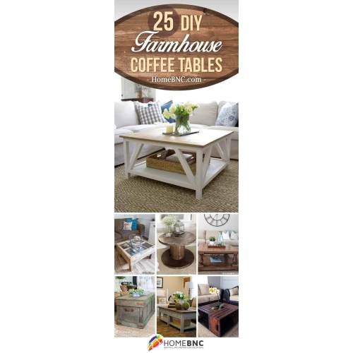 Medium Crop Of Farmhouse Coffee Table