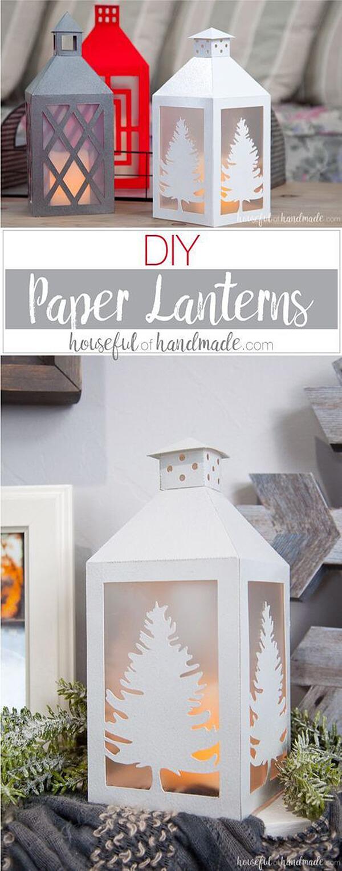 Peachy Lantern Paper Decor Crafts Paper Decor Crafts For 2018 Home Decor Craft Ideas home decor Home Decor Crafts Ideas