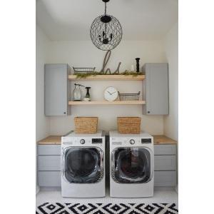 Excellent 32 Farmhouse Laundry Room Decor Design Ideas Homebnc Laundry Room Decor Michaels Laundry Room Decorative Knobs