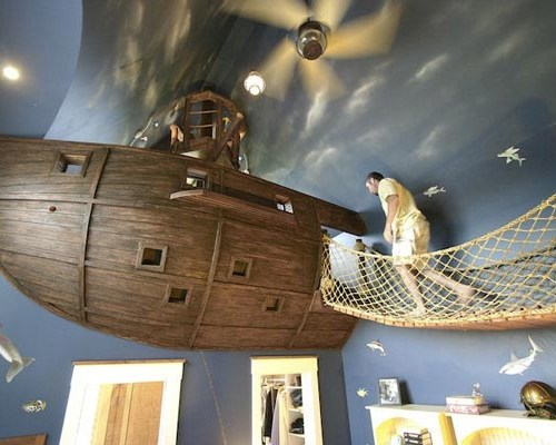pirate bedroom