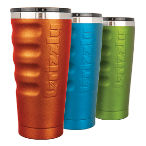 Custom Colored Grizzly Tumblers