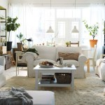 natural-plants-decorating-idea-paired-with-white-sofa-living-room-and-bookshelf-design