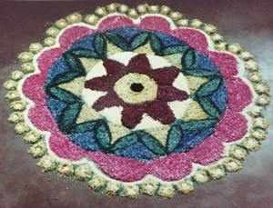 Kolam – Combining Art And Geometry
