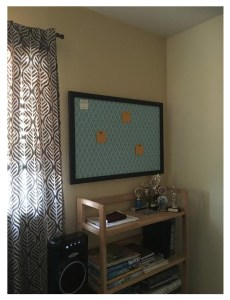 Focal Point Cork Bulletin Board