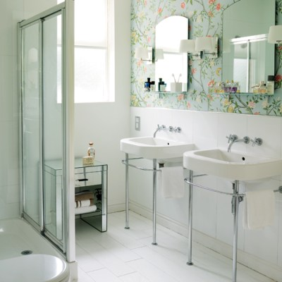 Modern Wallpaper for Bathrooms Ideas UK