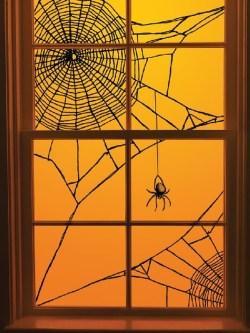 Small Of Halloween Window Decorations