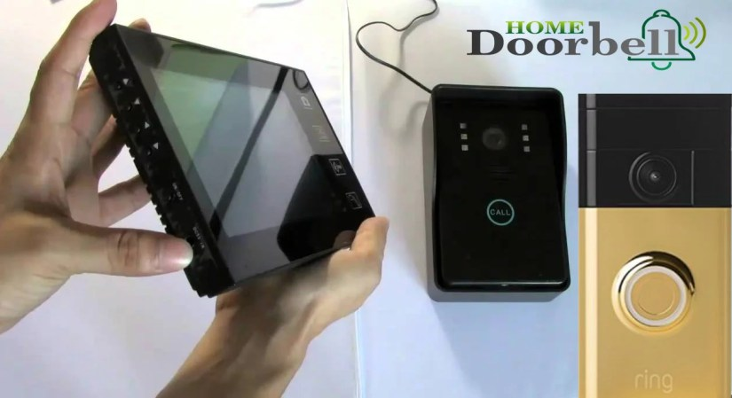wireless video doorbell system